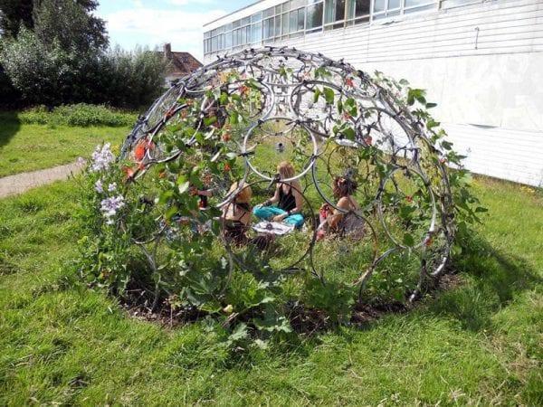 Pratik Bahçe Tasarımları ve Bahçe Dekorasyon Örnekleri 31