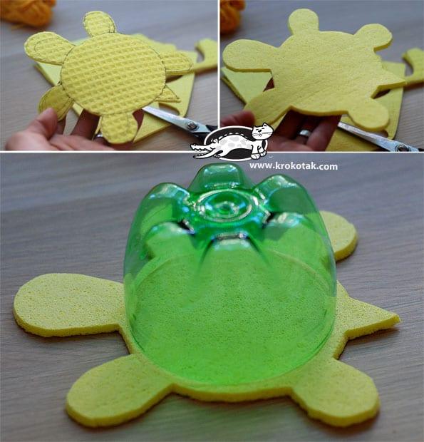 Sanat Etkinliği Kaplumbağa Yapımı Mimuucom