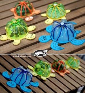 Sanat Etkinliği Kaplumbağa Yapımı