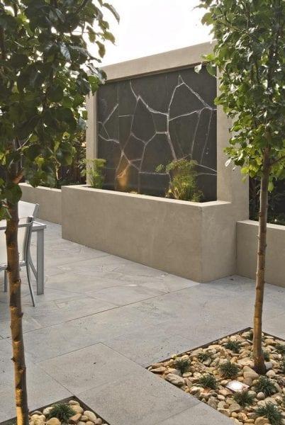 Taşlarla Yapılmış Bahçe Fikirleri 8