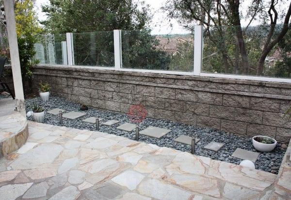Taşlarla Yapılmış Bahçe Fikirleri 10