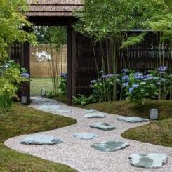 Taşlarla Yapılmış Bahçe Fikirleri 2