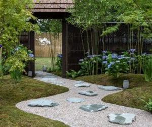 Taşlarla Yapılmış Bahçe Fikirleri 22