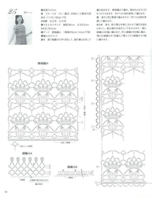 Tığ İşi Kız Çocuk Yazlık Bluz Yapılışı 4