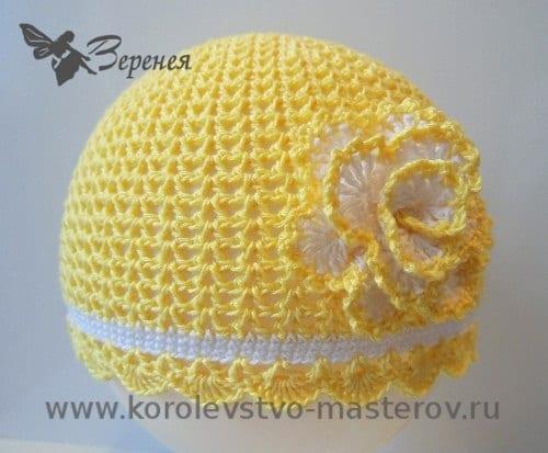 Tığ İşi Yazlık Şapka Yapımı 1