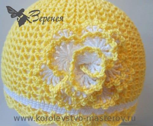 Tığ İşi Yazlık Şapka Yapımı 2