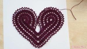 Videolu, Tığ İşi Kalp Örgü Bluz Nasıl Yapılır? 33