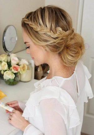 2017 Düğün Saç Modelleri