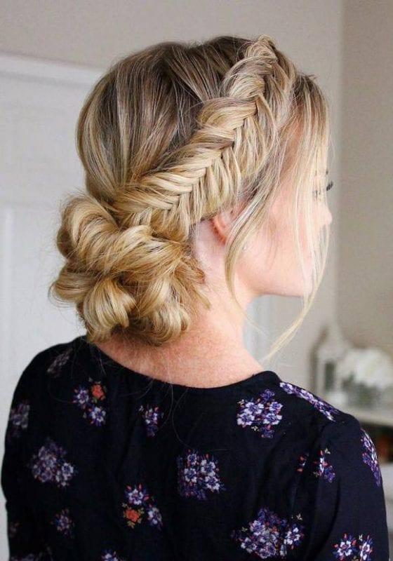 2017 Düğün Saç Modelleri 14