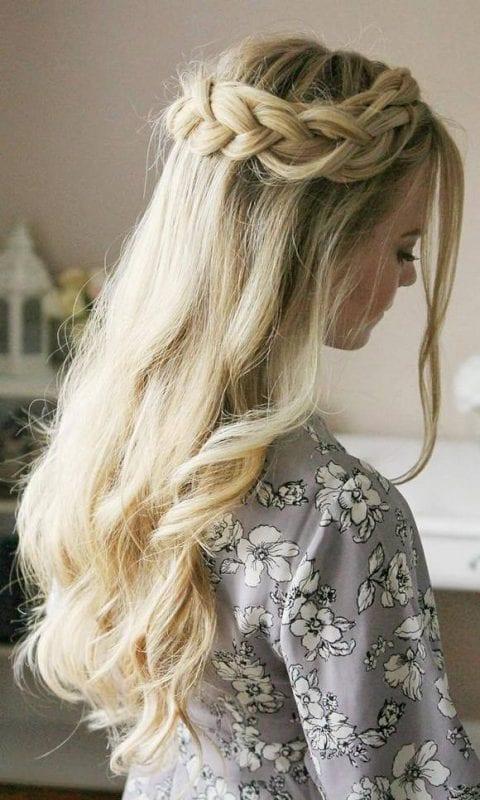 2017 Düğün Saç Modelleri 21