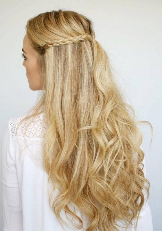2017 Düğün Saç Modelleri 33