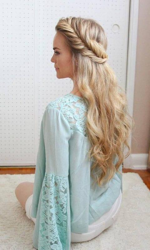 2017 Düğün Saç Modelleri 53