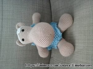 Amigurumi Hipopotam