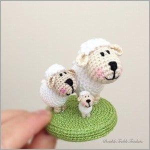 Amigurumi,Amigurumi Mor Koyun Yapılışı.Amigurumi Sheep Free ... | 300x300