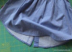 Baba Gömleğinden Elbise Yapımı 9
