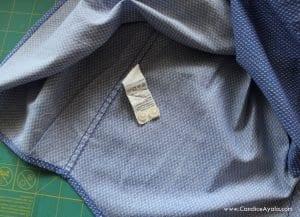 Baba Gömleğinden Elbise Yapımı 10