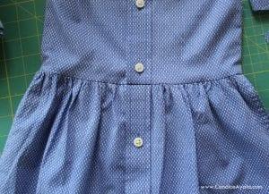 Baba Gömleğinden Elbise Yapımı 12