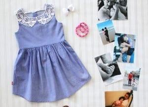 Baba Gömleğinden Elbise Yapımı 13