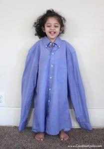 Baba Gömleğinden Elbise Yapımı 2