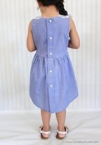 Baba Gömleğinden Elbise Yapımı 6
