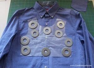 Baba Gömleğinden Elbise Yapımı 7