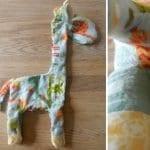 Dekoratif Zürafa Yastık Yapımı 17