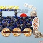 Düğmeyle Kazak Süsleme Yapılışı 26