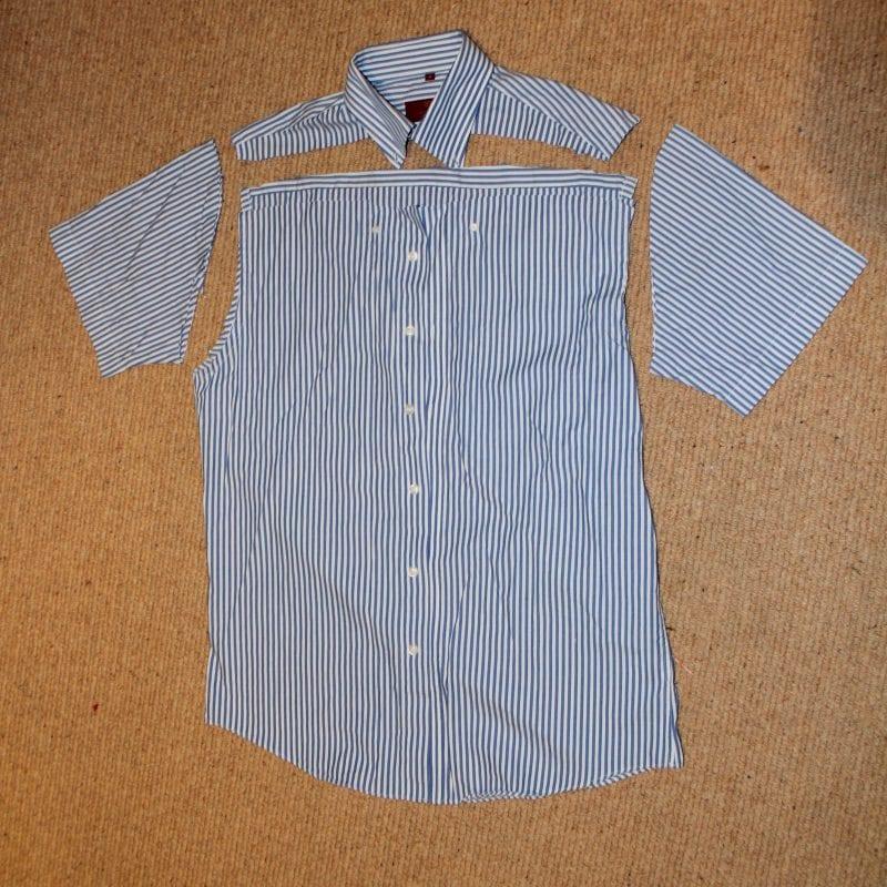 Erkek Gömleğinden Tunik 2
