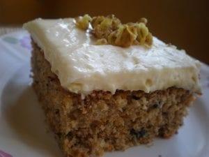 Havuçlu Cevizli Muhallebili Pasta 1