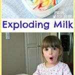 Okul Öncesi Patlayan Süt Deneyi 9