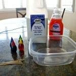 Okul Öncesi Patlayan Süt Deneyi 4