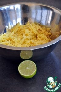 Patates Çanağında Somon Tarifi