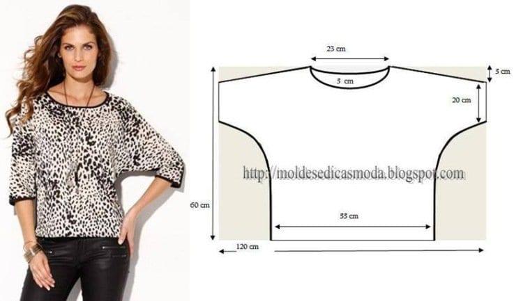Легкие выкройки блузок