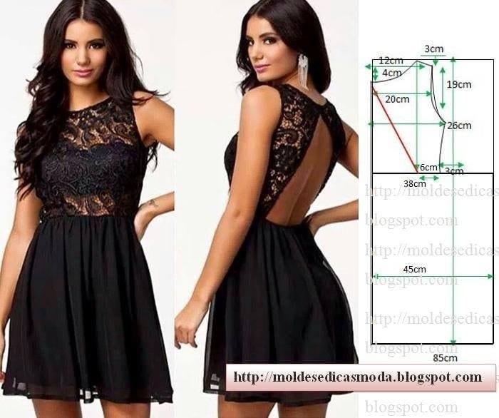 Красивые платья чтобы самой сшить 867