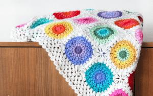 Renkli Örgü Battaniye Nasıl Yapılır?