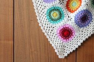 Renkli Örgü Battaniye Nasıl Yapılır? 3