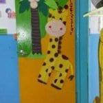 Sınıf Kapı Süsleme Örnekleri 118