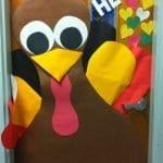 Sınıf Kapı Süsleme Örnekleri 12