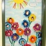 Sınıf Kapı Süsleme Örnekleri 14