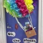 Sınıf Kapı Süsleme Örnekleri 16