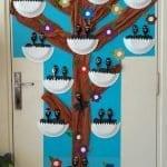 Sınıf Kapı Süsleme Örnekleri 19