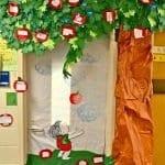 Sınıf Kapı Süsleme Örnekleri 22