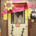 Sınıf Kapı Süsleme Örnekleri 24