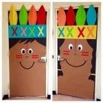 Sınıf Kapı Süsleme Örnekleri 26