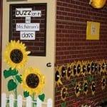 Sınıf Kapı Süsleme Örnekleri 34