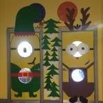 Sınıf Kapı Süsleme Örnekleri 41