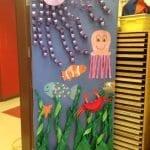 Sınıf Kapı Süsleme Örnekleri 4