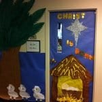 Sınıf Kapı Süsleme Örnekleri 5
