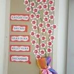 Sınıf Kapı Süsleme Örnekleri 63