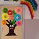 Sınıf Kapı Süsleme Örnekleri 72